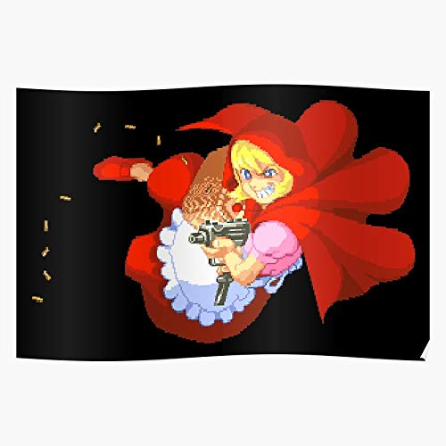 POUSADA of Darkstalkers Lord B The Vampire Hood Little Riding Savior Baby Bonnie Red Il Poster di Decorazione per Interni più Impressionante ed Elegante Disponibile di Tendenza Ora