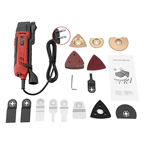 Lowest Price! TOPINCN 37 PCS 300W 110V Multi Tool Sander Quick Change Blade System Accessories US