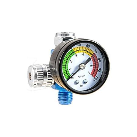T4w Druckregler Mit Manometer Für Lackierpistolen 59405 Auto