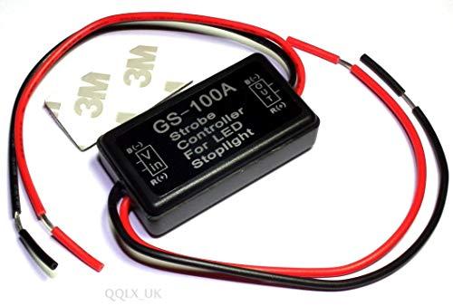 Genérico para freno LED Ta cola de freno t 12-16 V luz de parada 12-16 V 1 módulo intermitente para L flash estroboscópico controlador Flas para LED Obe Control