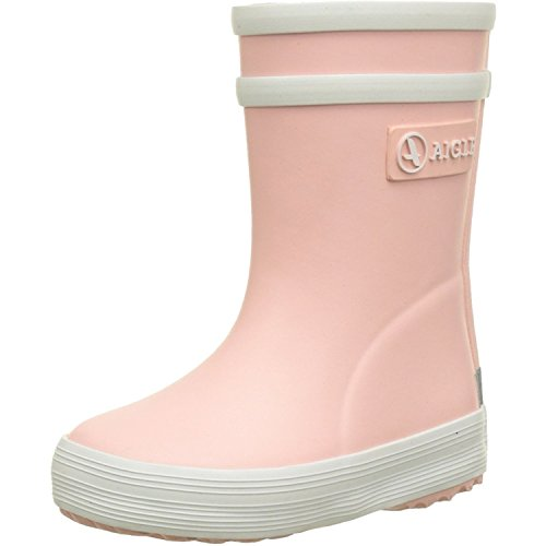 Aigle Unisex-Kinder Baby Flac Gummistiefel, Pink (GUIMAUVE), 22 EU