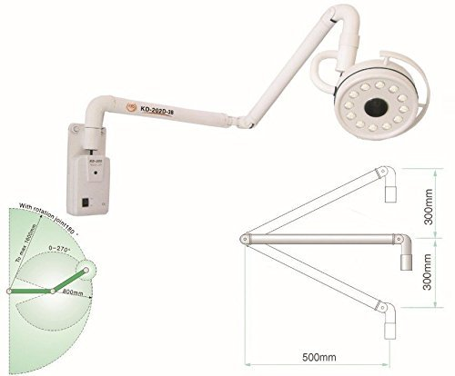 Purchase Aphrodite 36W Hanging LED Surgical Oral Exam Light Shadowless Lamp KD-202D-3B
