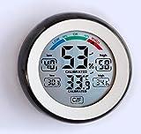 Vip Gadgets dawnlabs ABS Multifunctional Digital Thermometer Hygrometer Temperature Humidity Meter Max Min