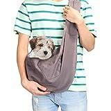 AGPTEK Bolso Porta Mascotas Sling, Mascotas propias Nolso Porta Mascotas Sling...