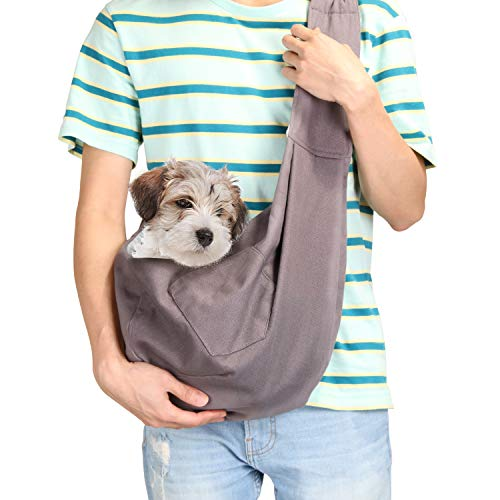 Ownpets 2018 Newes Upgrade Hundetransporttasche Hundetragetuch für Haustier Hund Katze Bequem, Wendbar, Verstellbar, für Kleine & Mittelgroße Haustiere, Perfekt für Outdoor-Aktivitäten - 'EINWEG'