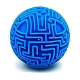 T Topways Mini 3D Magia Laberinto Puzzle Ball Cube Juego Inteligencia e Idea Laberinto Juego Puzzle clásico Rompecabezas Regalos para niños y Adultos (difícil)