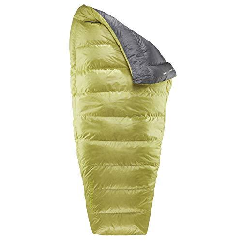 Therm-a-Rest Corus 20 Long Gelb, Daunen Schlafsack, Größe 211 cm - Farbe Spring