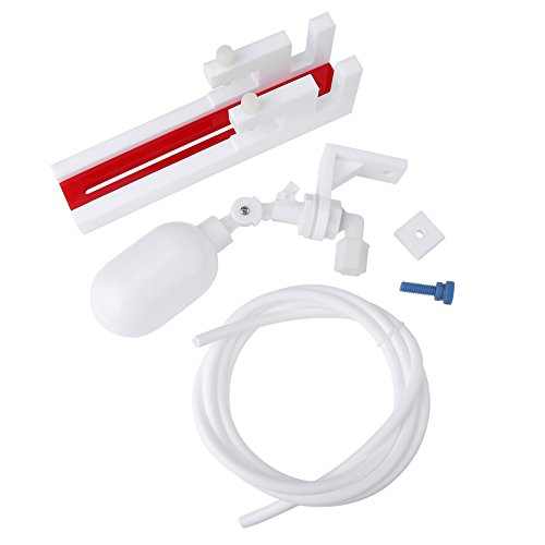 Fdit Auto Wasser Füllstoff Kunststoff Noneelectric Wasserstandsregler Wasserfilter Schwimmerkugelventil für Aquarium Fischtank