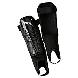 PUMA Pro Training 2 grd + Ankle Shin Guards, Black White, L