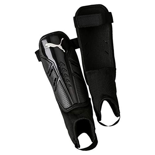 PUMA Pro Training 2 grd + Ankle Schienbeinschoner, Black White, M