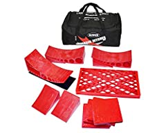 With the Andersen Hitches Ultimate Trailer Gear Duffel Bag, you'll have everything you need to make your campsite set up a breeze! The perfect RV Leveling Kit & RV Accessories all in one sturdy carry bag with handles A full camper leveler kit (2 Camp...