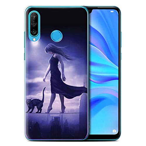 Elena Dudina eSwish telefoonhoesje/Cover/Skin/HUAGP-CC/Dark Magic Collection Huawei P30 Lite 2019 Slaapwandelaar/slapeloosheid