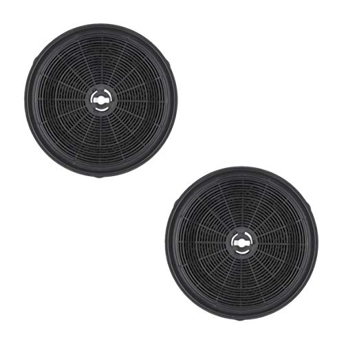2 x DL-pro Kohlefilter für Electrolux 9029793784 E3CFWH Whirlpool 484000008647 Wpro CHF180 Refsta K25 Dunstabzugshaube