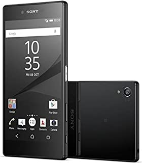 "Sony Xperia Z5 Premium Dual E6883 5.5"" 23MP 32GB Smartphone - International Version/No Warranty (Black)"