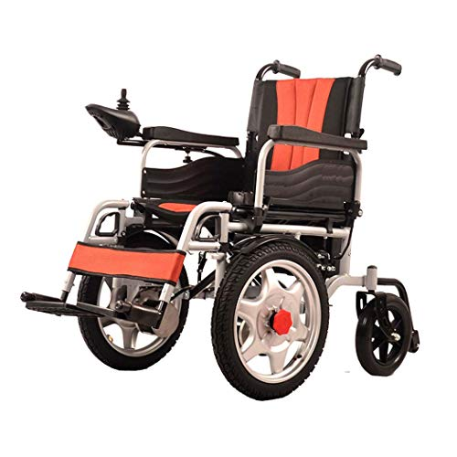 GJX Elektrische rolstoel, koolstofstaal, oudere handicaps, lichte vouwfiets, met oude toiletstep