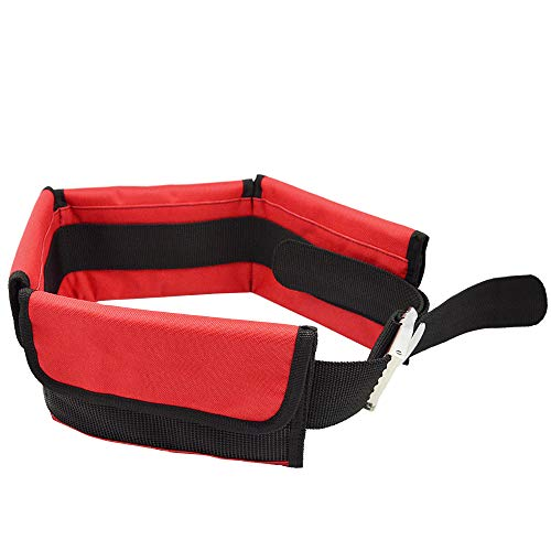 CHEN Pocket Diving Weight Belt, kann EIN Gewicht von weniger als 3 kg Bleigewicht halten, Blei-Aufbewahrungsgürteltasche mit Schnellverschluss, die zum Tauchen und Schnorcheln verwendet Wird