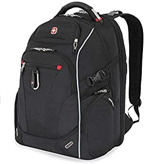 Swiss Gear Scan Smart Laptop Backpack SA6752 Black, 15 inches