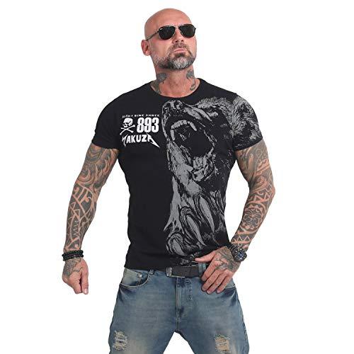 Yakuza Herren Beast T-Shirt, Schwarz , XL