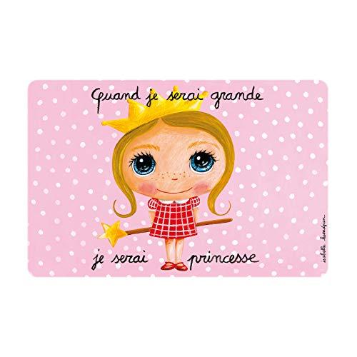 Set de table Princesse - Isabelle Kessedjian