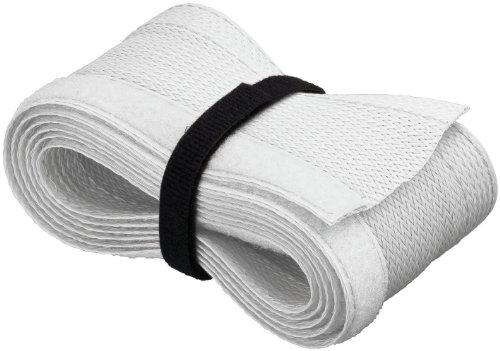 Kabelsocke aus weichem Textil, 1,8m Länge, weiß (2 Stück)