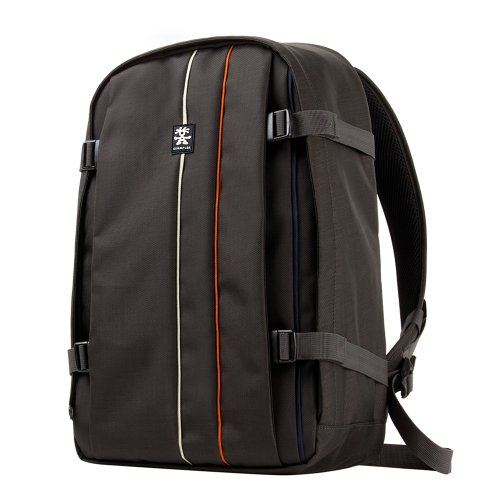 Crumpler JPFBP-005 Jackpack Full Fotorucksack mit 38,1 cm (15 Zoll) Laptop Fach grau/schwarz