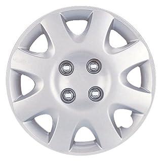 14 Silver Replica Wheel Cover, Set of 4 Drive Accessories KT-842-14S//L Toyota Corolla 14 Silver Replica Wheel Cover Autosmart KT842-14S//L
