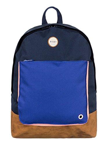 Roxy Womens Frozen Soul Block Backpack, Blue (True Black)