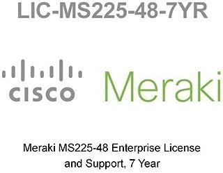 LIC-MS225-48-7YR Enterprise Meraki License for MS225-48 7 Year