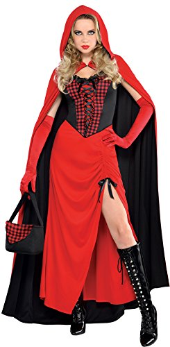 Amscan International - Costume di carnevale, motivo: Cappuccetto Rosso, da donna, taglia XL