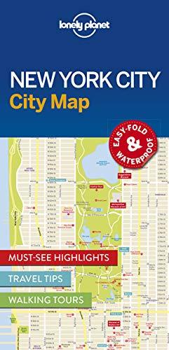 New York City Map - 1ed - Anglais