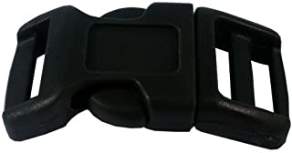 PARACORD PLANET 1/2 Inch Contoured Side Release Buckles in Choose from 5,10, and 20 Pack Sizes