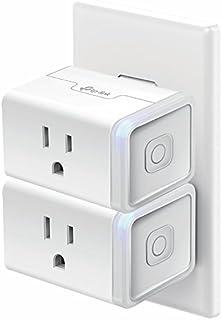 Kasa Smart WiFi Plug Mini by TP-Link – Smart Plug, No Hub...