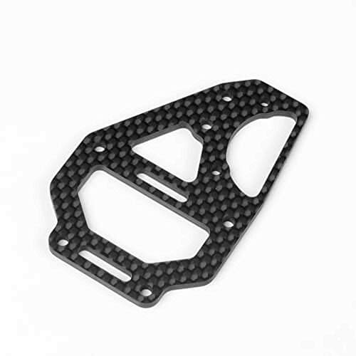 TEKNO RC LLC Center Diff Top Plate and CF Fan Mount: EB410, TKR6635C