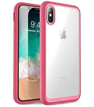 SUPCASE [Unicorn Beetle Style] Case Designed for iPhone X iPhone XS Premium Hybrid Protective Clear Case for Apple iPhone X 2017/ iPhone XS 2018 Release  Pink