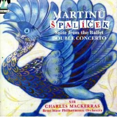 Martinu: Spalicek - Suite from the Ballet/Double Concerto for Two String Orchestras and Timpani