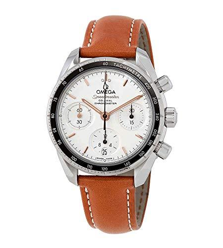 Omega Speedmaster 324.32.38.50.02.001 - Reloj automático para Hombre, Esfera Opalina, Color Plateado