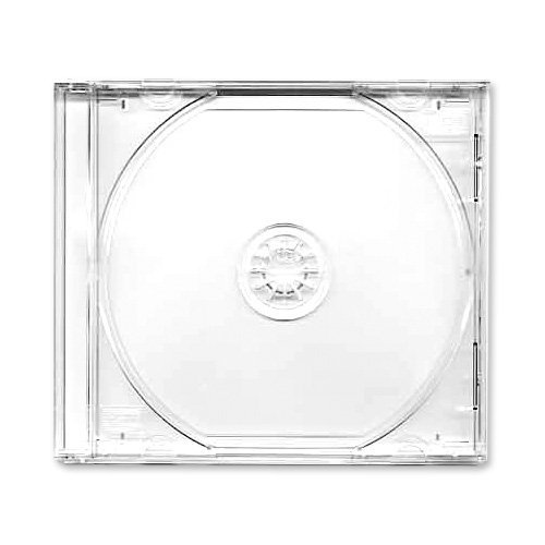 Assembled JewelCase & Clear Tray - 100 Pack