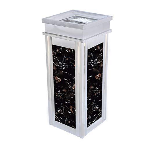 panduo Trash can Innen Mülleimer Mülleimer, Outdoor Mülleimer Mülleimer Hotel Mülleimer Mülleimer Aschenbecher Tasse Home Office Küche Essen und Bar im Freien Mülleimer (Größe: obere Öffnung)
