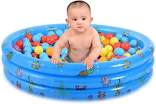 LBWARMB Piscinas hinchables Inflables Piscina para niños Bebé, Kiddie Piscina Juguetes para niños pequeños Niños Boys Outdoor Verano Fiesta de Agua, Blow Up Pool Games Play Center Inflatable Lounge