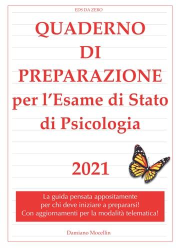 EDS DA ZERO: Quaderno di Preparazione per l'Esame di Stato di Psicologia