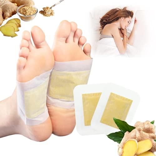 Schlaf-Detox-Fußpflaster, Fettreduzierendes Entgiftungspflaster, Ingwer-Bambusessig Detox Pflaster, Entfeuchten Deep Cleansing Foot Pads