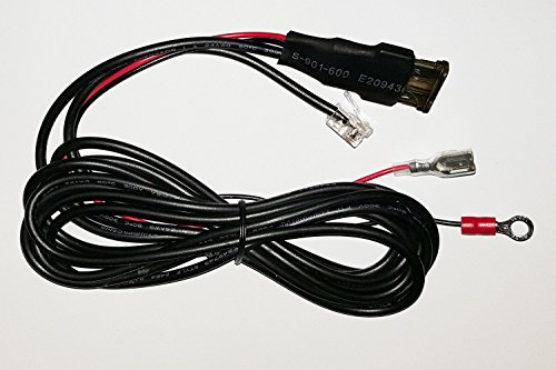 Direct Wire Power Cord - Escort Max, Max 360, 8500x50, Solo S3, Redline