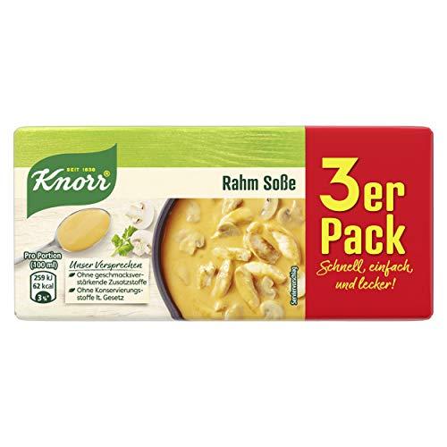 Knorr Rahm Soße, 3 x 250 ml