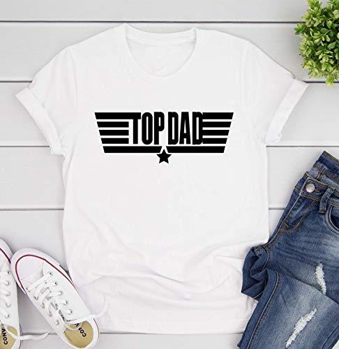 Toll2452 Top Dad - Camiseta divertida para el día del padre, regalo para hombres, regalo para papá, camiseta para hombre