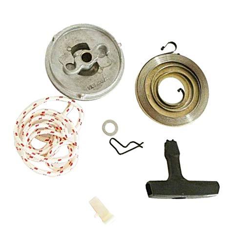 LOVIVER Seilzugfedern Mit Anlassergriff Für STIHL 038 MS380 MS381 Anlassergriffe