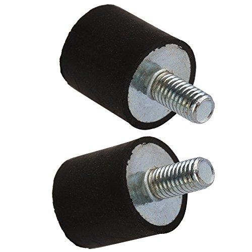 cnbtr de M6/femalethread Monturas de goma aisladores anti vibration amortiguaci/ón silentblock compresores de aire Pack de 5