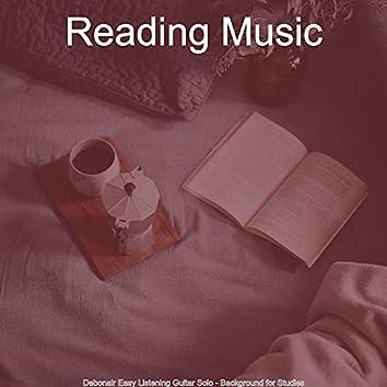 Debonair Easy Listening Guitar Solo - Background for Studies