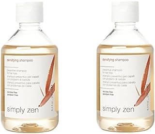 Simply zen densifying shampoo DUO PACK 2 x 250 ml shampoo preventivo per capelli con problemi di caduta 500ml PROMOZIONE S...