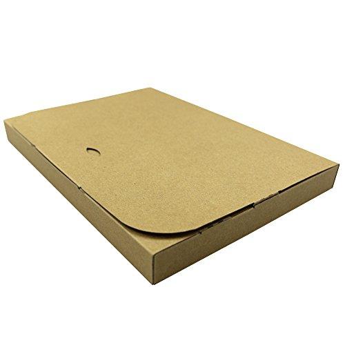 WEIMALL 100枚セット ダンボール A4サイズ ゆうパケット クリックポスト ポスパケット 対応 305×220×30 日本製 茶色