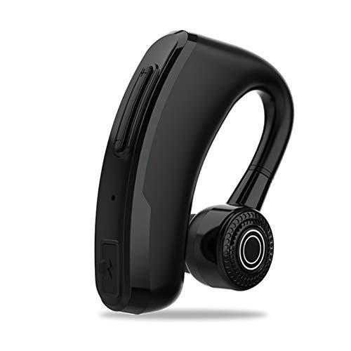 Wsaman Auriculares Bluetooth Intrauditivos,Deportivos Auriculares,con Estuche de Carga Inalámbricos Sonido Estéreo Cancelación de Ruido para Deportes, Oficina en Casa Trabajo,Negro